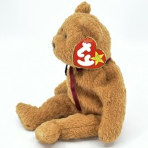 1993/1996 Ty Beanie Baby Curly the Bear Retired Beanbag Plush Toy Doll image 2