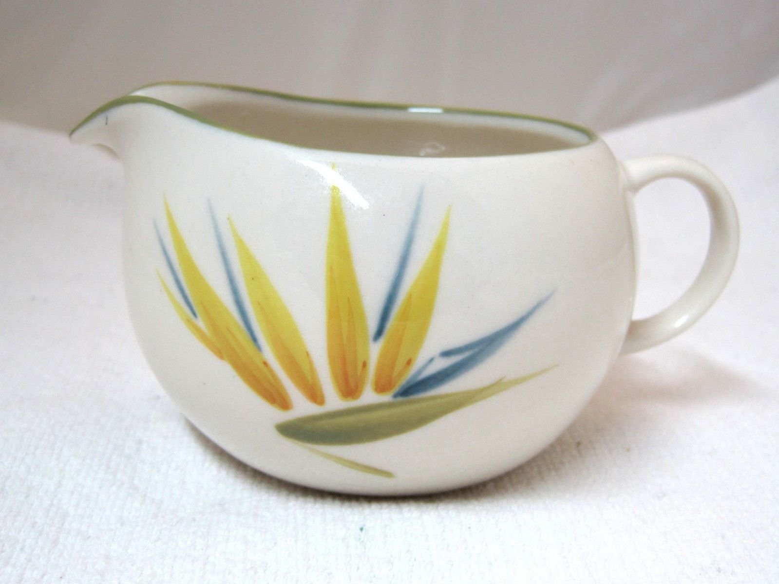 Primary image for Bird of Paradise Winfield China Pottery California Creamer Milk Jug 2 1/2""