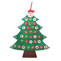 Iusun Christmas Tree Calendar Xmas Decoration Hanging Door Wall Advent C... - $33.00