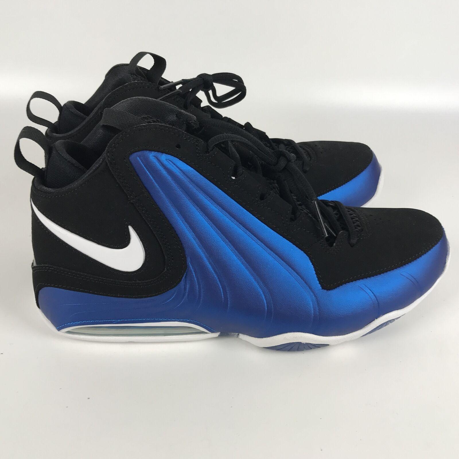 Nike Air Max WAVY Men's size 11 Basketball Shoes Penny Blue Black AV8061 002