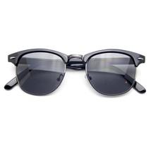 Halb Randlose Sonnenbrille Herren Damen Halber Rahmen Vintage Designer M... - $11.13