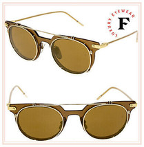 DOLCE & GABBANA PRINCE 2196 Brown Camel Gold Mirrored Sunglasses DG2196S... - $257.40