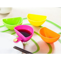 SANGEMAMA 4Pcs/lot Assorted Salad Ketchup Jam Dip Clip Cup - £9.04 GBP