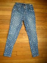 the childrens place americana star stretch pants blue jean denim jegging... - $7.43