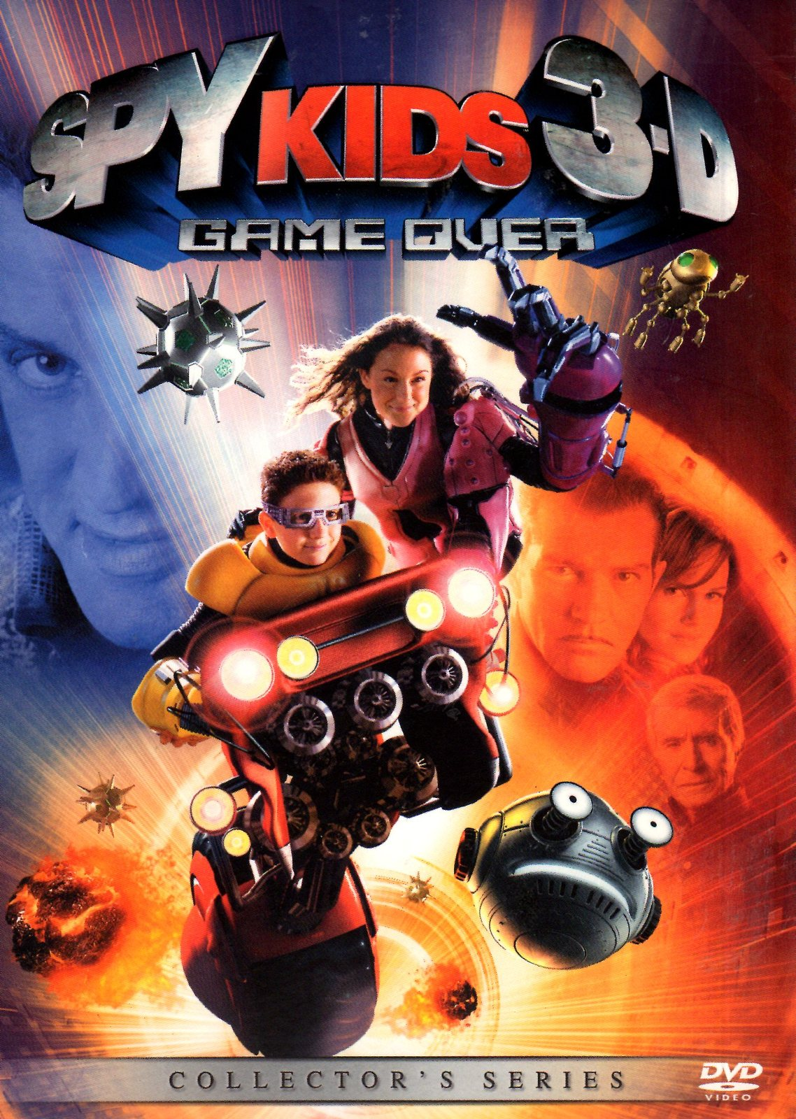 DVD- Spy Kids 3-D: Game Over DVD , Collector's Series