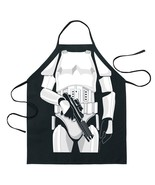 Mens Kitchen Apron Stormtrooper BBQ Tool Star Wars Apparel Adult One Siz... - $14.80