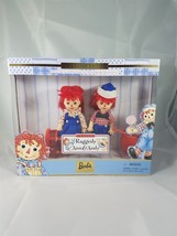 Mattel 1999 #24639 Raggedy Ann (Kelly) & Andy (Tommy) Barbie Collectible... - $21.49