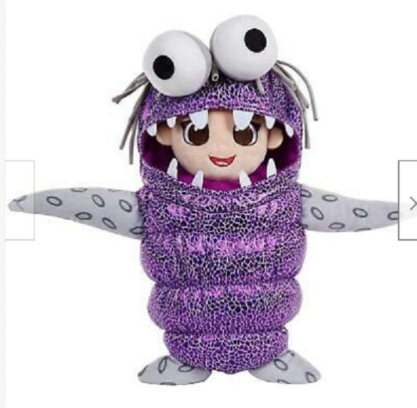 Mattel Disney Pixar Monsters Inc Disguise Boo Talking Sounds Plush Doll - $22.00