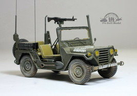 US Army M151A2 Ford Mutt 4X4 Military Jeep Vietnam war 1:35 Pro Built Mo... - $173.25