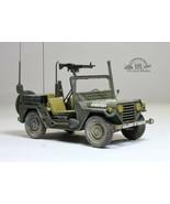 US Army M151A2 Ford Mutt 4X4 Military Jeep Vietnam war 1:35 Pro Built Mo... - $173.25