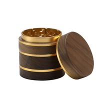 DCOU Premium Large Wooden Spice Grinder Pollen Collector with Magnetic L... - $54.99