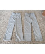 Easton Baseball pants, youth boys, size YS, 2pk, grey - $19.80