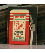 Vintage Matchbook Cover T6 Rapid River Michigan Shorts Service 5D Gasolene - $53.99