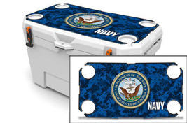 "Ozark Trail Wrap ""Fits 73qt Cooler"" 24mil Skin Lid Kit US NAVY Digi Camo - $35.95"