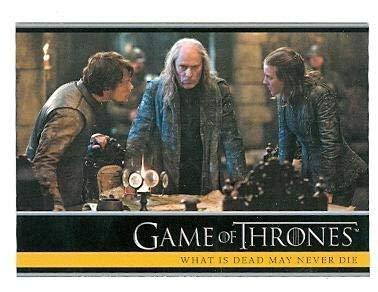 Game of Thrones trading card #08 2013 What is Dead May Never Die