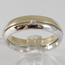 White Gold Ring Yellow 750 18K,FAITH Engagement Ring With Diamonds Ct 0.05, - $609.60