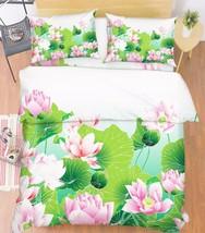 3D Nice Flowers Bed Pillowcases Quilt Duvet Cover Set Single Queen King Size AU - $90.04+