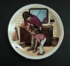 Avon Mother's Day Plate 1986, A New Tooth by Tom Newsom, no box - $6.49