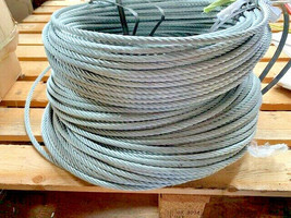 Galvanised Steel Wire Rope 180M 8mm Thick Single Leg 4010-99-543-4886 - $163.70
