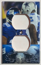 NY Giants VS Dallas Cowboys Light Switch Outlet Wall Cover Plate home decor image 4