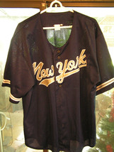 "New York City NY ""Baseball"" Style Jersey With Buttons- Nicely Made! - $18.49"