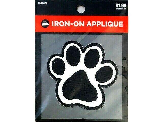 Hobby Lobby Iron-On Applique, Paw Print #1446426