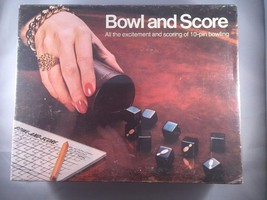 Bowl and Score Board Game 1974 Milton Bradley/E... - $20.00