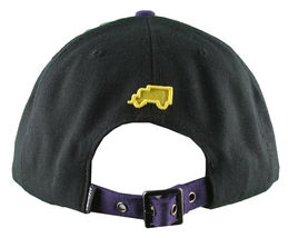 Trukfit Mens Black Purple Yellow Galaxy Baseball Strapback Hat Cap T1208H09 NWT image 4