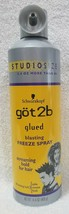 Schwarzkopf Got2b Glued BLASTING FREEZE SPRAY Hold Spike Hair 14.4 oz/40... - $16.82