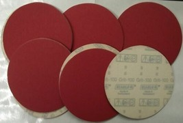 """Diablo 2610017921 50 Pack U-Sand Hook & Lock 6"""" 100 Grit Sanding Discs - $9.90"""