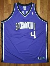 Authentic 2003 Reebok Sacramento Kings Chris Webber Road Purple Jersey 56 - $249.99