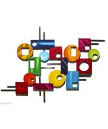 Peace out wall Sculpture #4, contemporary Modern Abstract wall sculpture... - $247.49