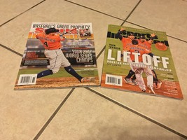 Houston Astros World Series Sports Illustrated Commemorative Issues 2 Ma... - $59.40