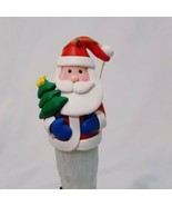 """Santa Claus Icicle Ornament Lights Up 10""""  Winter  - $14.99"""