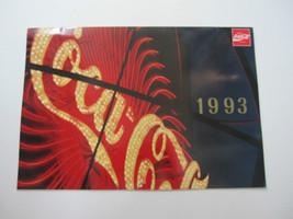 1993 Coca-Cola Wall Calendar - Official Product - $7.43