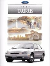 1997 Ford TAURUS sales brochure catalog US 97 G GL LX SHO - $9.00