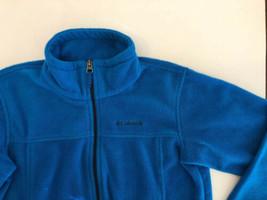 Columbia Youth Steens Mountain II Fleece Jacket Boys Large(14/16) Blue - $12.38