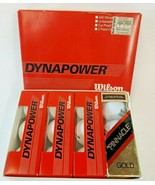 Wilson Dynapower Golf Balls Set of 9 Pinnacle Gold 90 Set of 3 Boxed White - $19.75