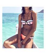 Bikini Set Fashionable Chromatic Color Sexy Camisole Swimwear Swimsuit  ... - $17.99