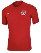 Nike Vaporknit Canada National Team Red Soccer NFL Jersey Mens Size Smal... - $63.21