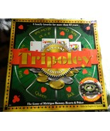 Tripoley Special Edition 2000 Cadaco Board Game Rotating Turnable-Complete - $38.00