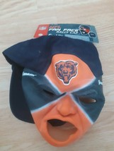 Chicago Bears Fan Face Rally Cap Hap Mask Franklin NFL Football One Size... - $19.75