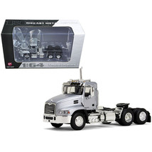 Mack Pinnacle Day Cab Silver 1/64 Diecast Model by First Gear 60-0349 - $52.00