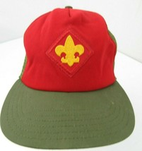 Boy Scout Made in USA Trucker Mesh Snapback Adult Cap Hat - $12.86
