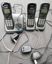 Uniden DECT1480-3 3 Handset Cordless Phone Digital Answering Machine - Dect 6.0 - $41.80