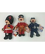 Mr Busby Bobby Beefey UK Royal Guard Police Set of 3 Cheerful Chums Plus... - $38.69