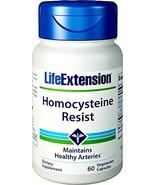 Life Extension Homocysteine Resist, 60 Vegetarian Capsules - $19.50