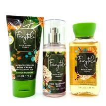3 Bath & Body Works FAIRYTALE Fragrance Mist Shower Gel & Body Cream Tra... - $23.74