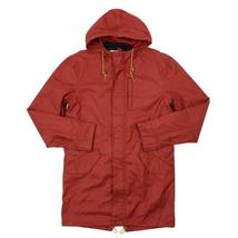 NEW LEVI'S MEN'S PREMIUM 3 WAY HOODED PARKA JACKET COAT RED 718520003 MSRP: $278 image 6