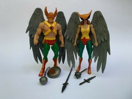 DC Universe Classics Hawkman and Hawkgirl 2 Figures Lot DCUC - $79.19